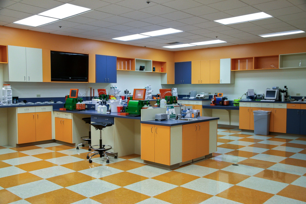 Medical Laboratory Construction Sacramento California. Built by GP Development Corp - Medical Laboratory Construction Specialists.