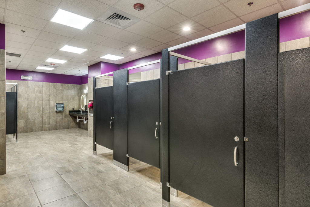 Fitness Center Construction in Sacramento, California. Built by GP Development - Commercial Construction and Building Specialists
